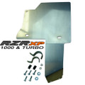 Fuel Tank Guard - Thunderhawk PZ2032, Aluminum Finish