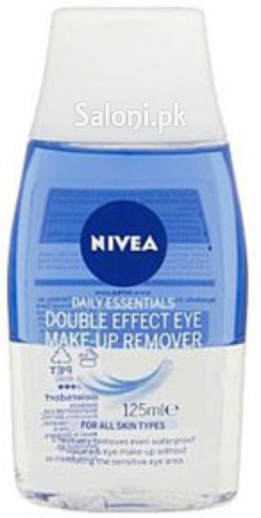 Nivea Daily Essentials Double Effect Eye Makeup Remover 125 ML