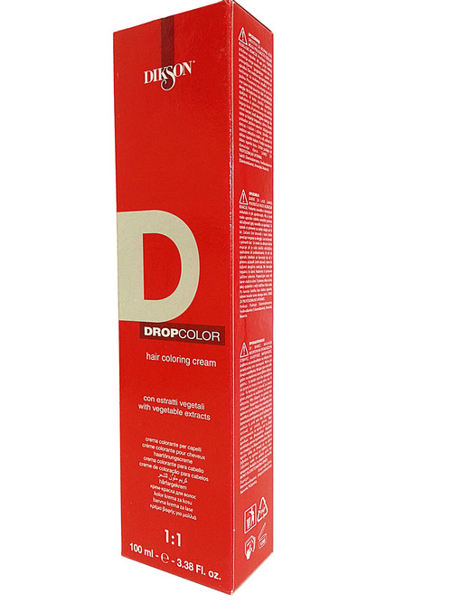 Dikson Drop Color Red Series Vivid Red Intense 7ROR/INT