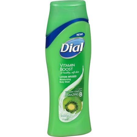 Dial Vitamin Boost Amazing B Lotion Infused Body Wash