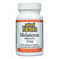 Natural Factors Melatonin Sublingual 3 MG