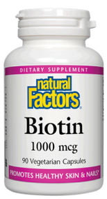 Natural Factors Biotin 1000 MG