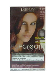 Dikson Pop Cream Color 75 RO Mahogany 550