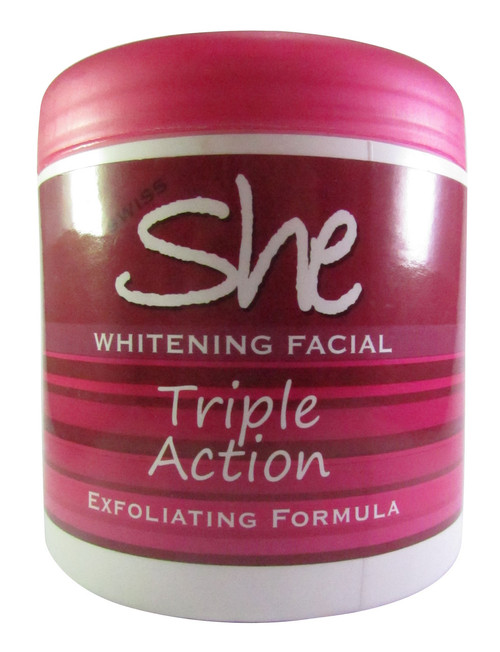 Swiss She Whitening Facial Triple Action 500 Grams