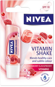Nivea Vitamin Shake Cranberry And Raspberry Lip Balm