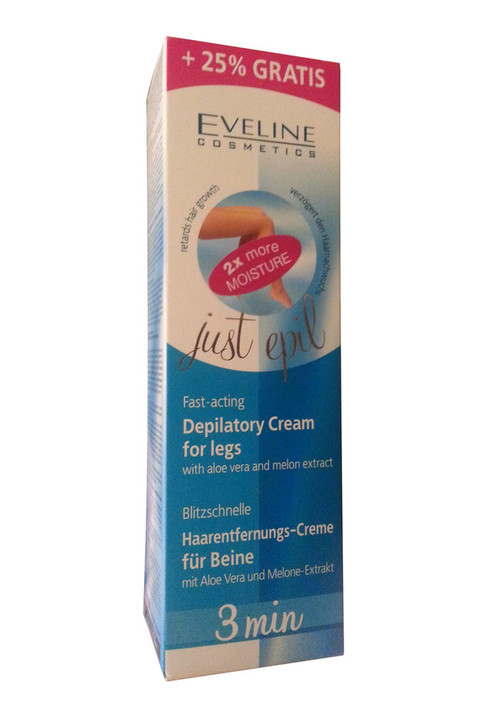 Eveline Cosmetics Just Epil Fast Acting Hair Removal Cream For Legs