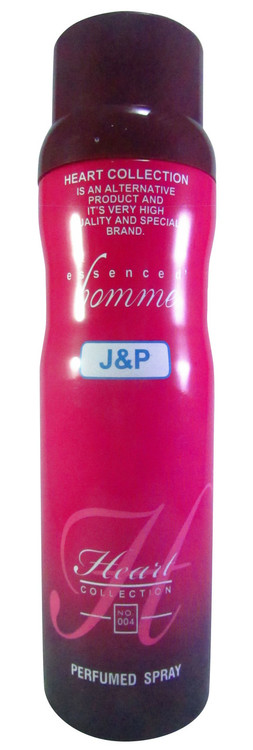 Heart Collection Essencede Homme J&P Perfumed Spray 200 ML