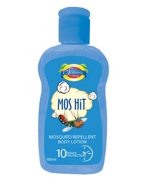 The Vitamin Company Mos Hit Mosquito Repellent Body Lotion (Blue)