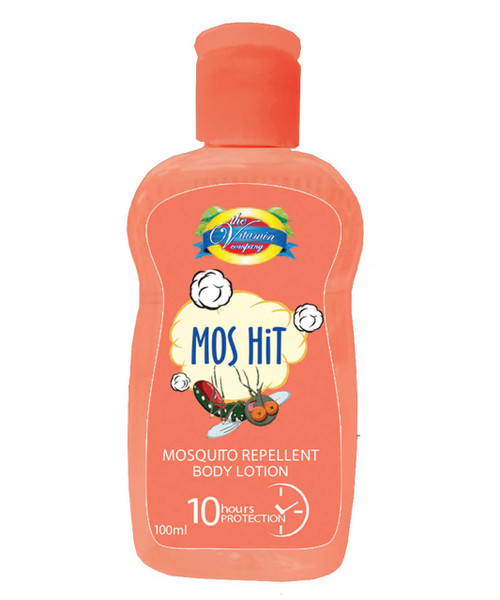 The Vitamin Company Mos Hit Mosquito Repellent Body Lotion (Orange)