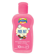 The Vitamin Company Mos Hit Mosquito Repellent Body Lotion (Pink)