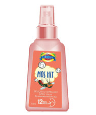 The Vitamin Company Mos Hit Mosquito Repellent Body Spray (Orange)