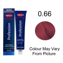 Indola Permanent Caring Hair Colour Creator Mix Tones Red Concentrate 0.66