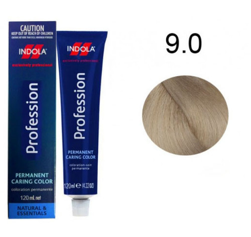 Indola Permanent Caring Hair Colour Very Light Blonde 9.0