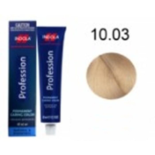Indola Permanent Caring Hair Colour Lightest Blond Natural Gold 10.03