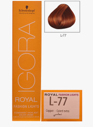 Schwarzkopf Igora Royal Fashion Light Hair Colour Copper L-77