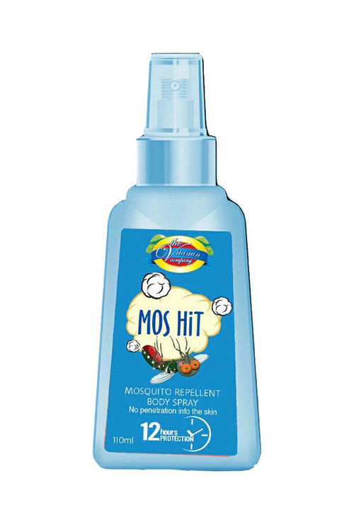 The Vitamin Company Mos Hit Mosquito Repellent Body Spray (Blue) 110 ML