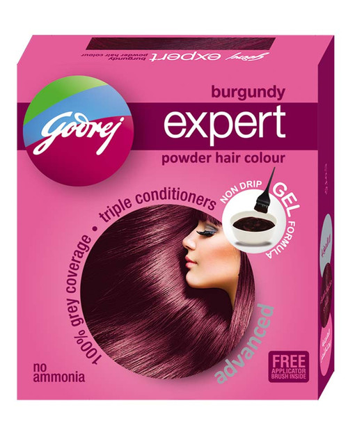 Godrej Burgundy Expert Advanced Powder Hair Colour