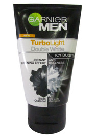 Garnier Men TurboLight Double White Icy Duo Foam 100 ML