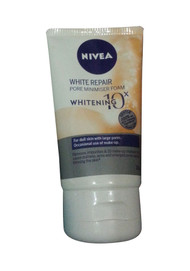 Nivea White Repair Pore Minimiser Foam 10x Whitening