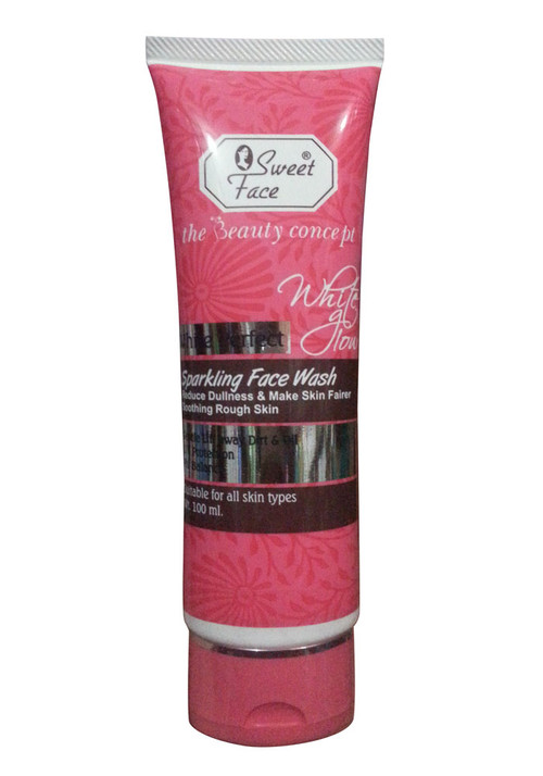 Sweet Face White Perfect Sparkling Face Wash Front