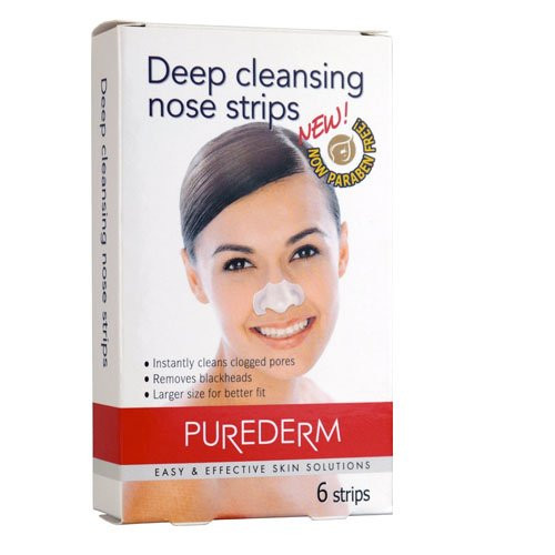 Purederm Deep Cleansing Nose Pore Strips (contains 6 strips)