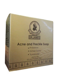 Dr.James Acne And Freckle Soap Front