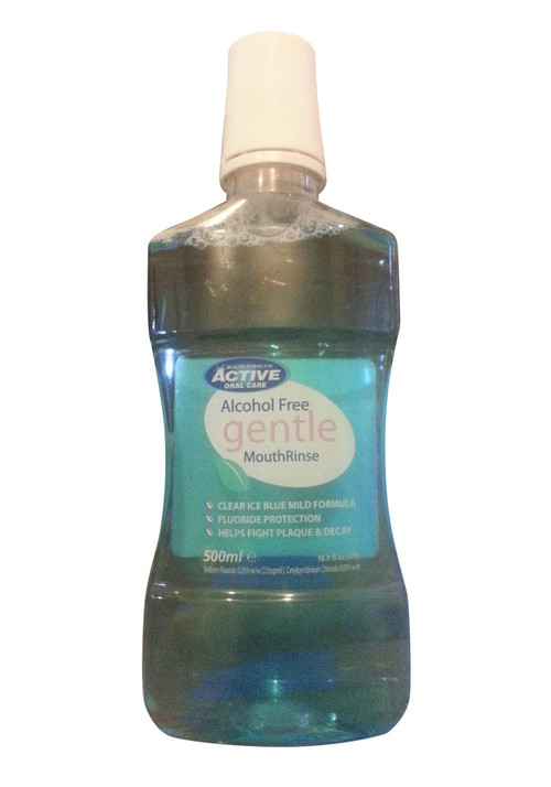 Active Oral Care Gentle Mouthrinse Alcohol Free Front
