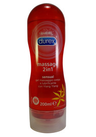 Durex Play 2-in-1 Sensual Massage Gel & Lube with Ylang Ylang 200 ML