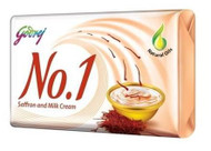 Godrej No.1 Saffron and Milk Cream Soap