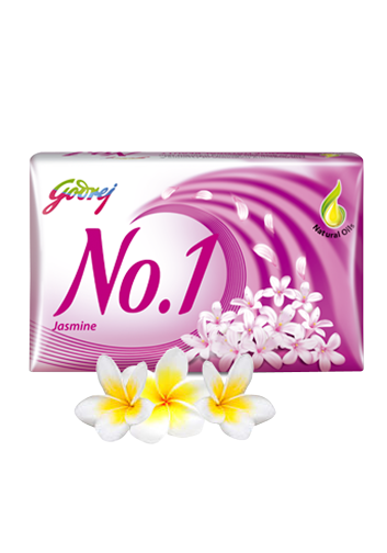 Godrej No.1 Jasmine Soap