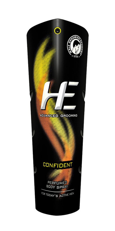 He Confident Perfume Body Spray