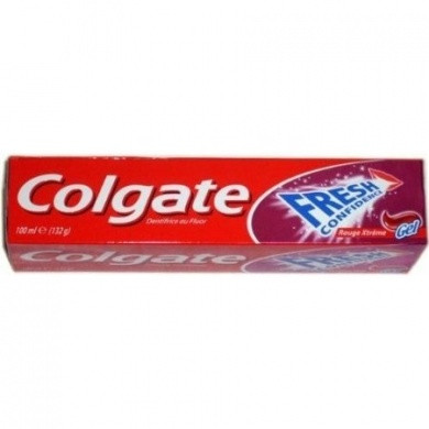 Colgate Fresh Confidence Xtreme Red Gel Toothpaste