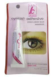 Best Choice Eyelash Adhesive Dark Tone Waterproof 9 Grams