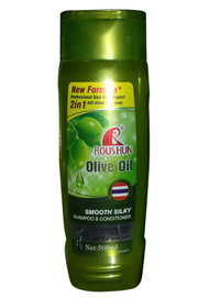 Roushun Olive Oil Smooth Silky Shampoo & Conditioner