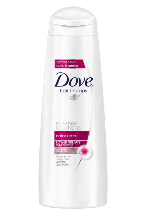 Dove Hair Therapy Damage Solutions Color Care Lower Sulfate Shampoo