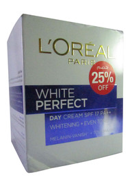 L'Oreal Paris White Perfect Whitening Day Cream SPF 17 PA++