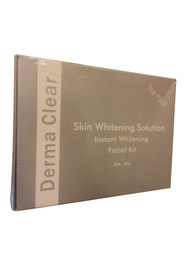 Derma Clear Skin Whitening Solution Instant Whitening Facial Kit