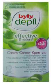 Byly Depil Effective & Natural Cream Sachet with Aloe Vera