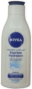 Nivea Express Hydration Body Lotion Front
