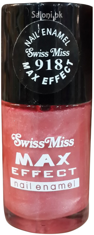 Swiss Miss Max Effect Nail Enamel no 918 front