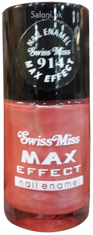 Swiss Miss Max Effect Nail Enamel no 914 front