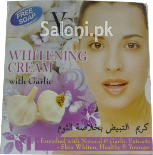 Yong Chin Whitening Cream with Garlic (Front)