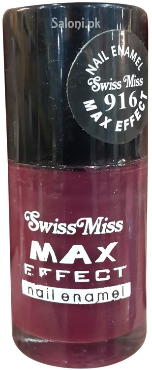 Swiss Miss Max Effect Nail Enamel no 916 front