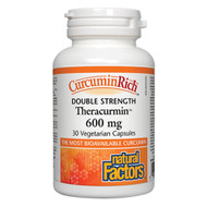 Natural Factors Double Strength Theracurmin 600 mg