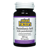 Natural Factors Pantothenic Acid 250 mg