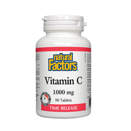 Natural Factors Vitamin C 1000 mg 90 Tablets