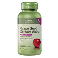 GNC Herbal Plus® Grape Seed Extract 500mg Extra Strength