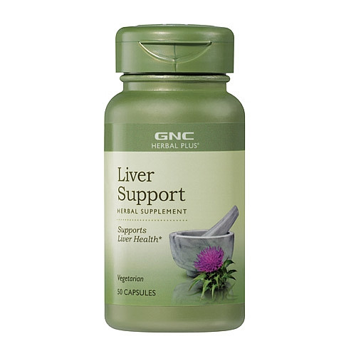 GNC Herbal Plus® Liver Support Dietary Supplement (50 VegiCaps)