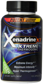 Xenadrine XT Xtreme Thermogenic with Green Coffee (120 Capsules)