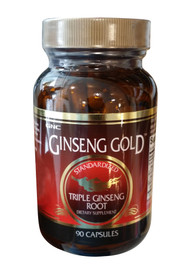 GNC Ginseng Gold Standardized Triple Ginseng Root (90 capsules)